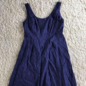Nine West Navy Dress. Size 14 NWT.